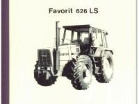 Werkstatthandbuch Deutsch / Englisch FENDT FAVORIT 626 LS Ausgabe 1984