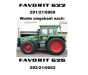 FAVORIT 626 LS 292/21/0052