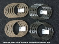 Lamellenscheiben Gangkupplung A und B / Quelle: Karl Heinz Dubbi