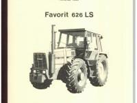 Werkstatthandbuch Deutsch / Englisch FENDT FAVORIT 626 LS Ausgabe 1982