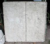Sanierung von Kunstoffplatten.