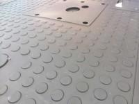 Fahrerhausmatte angefertigt erster Prototyp / Quelle: Karl Heinz Dubbi