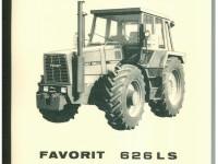 Betriebsanleitung Deutsch / Englisch FENDT FAVORIT 626 LS Ausgabe 1983