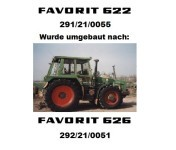 FAVORIT 626 LS 292/21/0051
