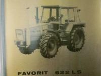Betriebsanleitung Deutsch FENDT FAVORIT 622 LS 3 / 1980